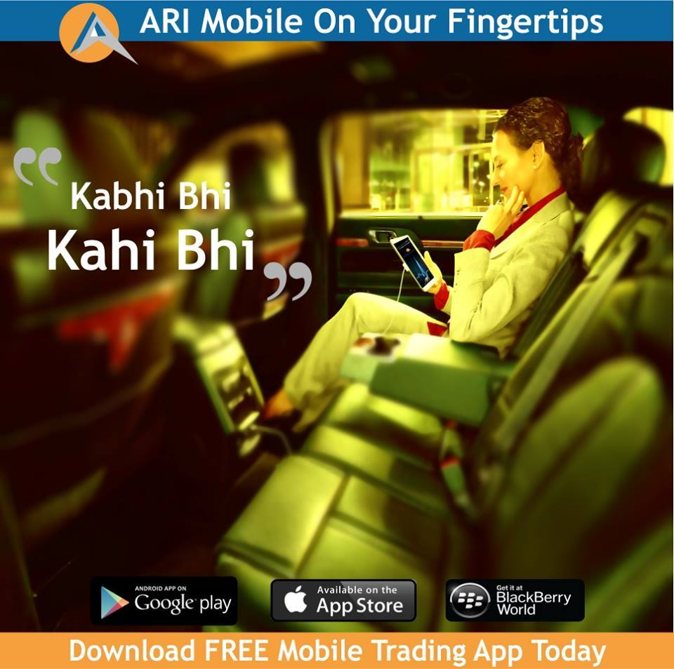 AriHANT MOBILE TRADING - India's best mobile trading app