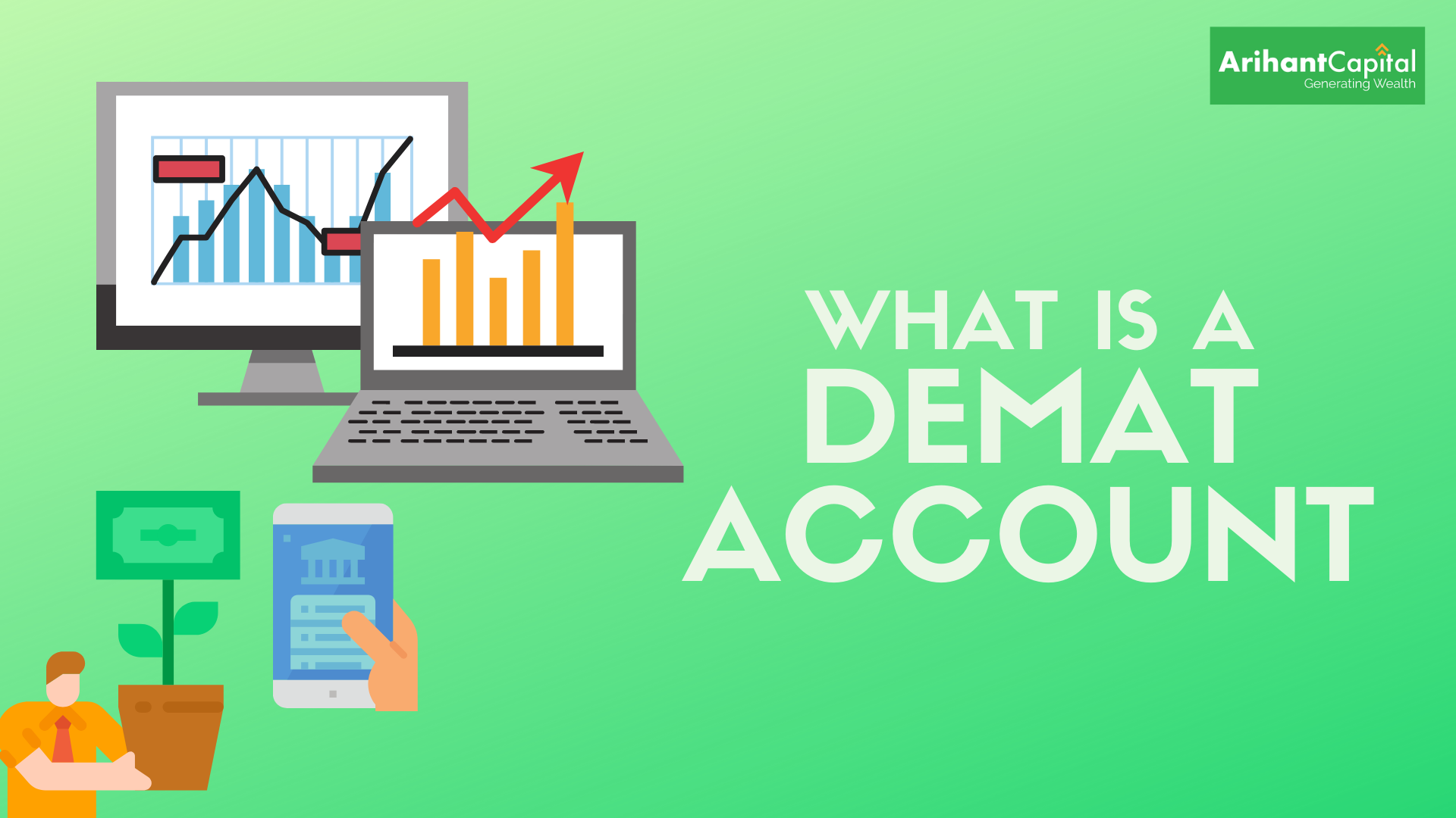 What is a demat account - types of demat account