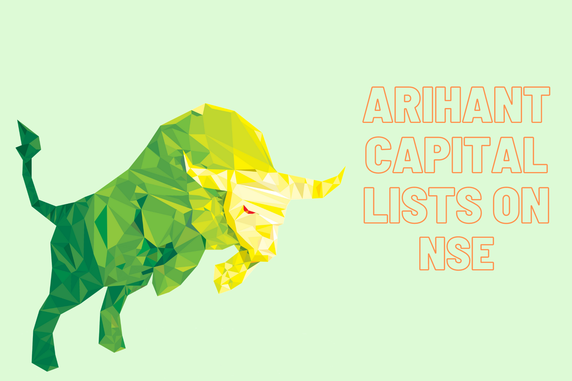 Arihant Capital Markets lists on NSE - National Stock Exchange Listing of Stock Broking Company